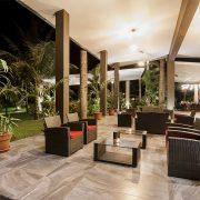 Vestíbulo El Sauce Resort